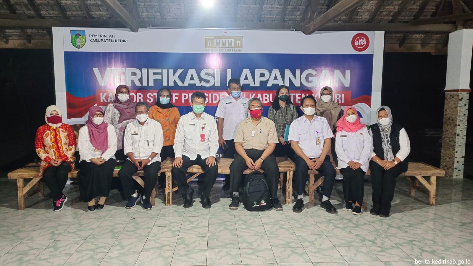 Kunjungan Tenaga Ahli Utama Kedeputian III Kantor Staf Kepresidenan di Kediri