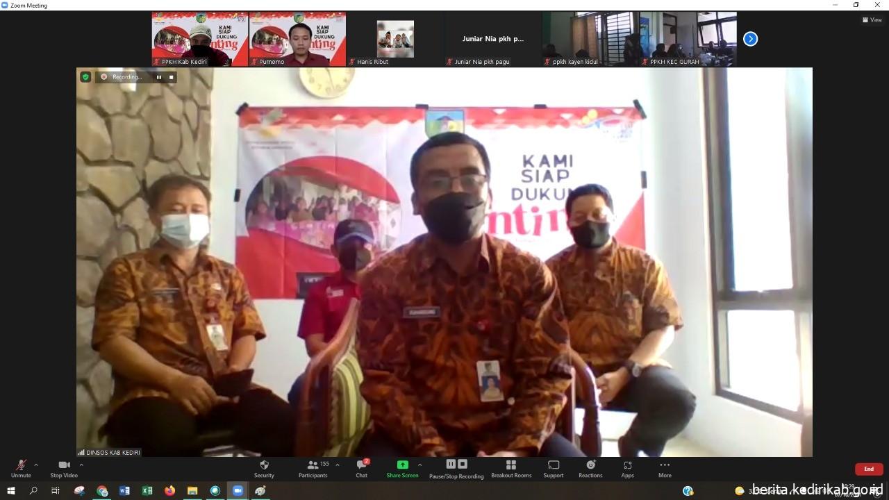 Dinsos Kabupaten Kediri Resmikan Program Centing