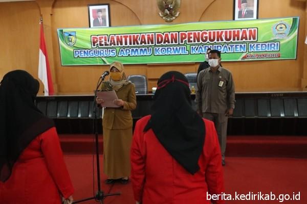 Pelantikan dan Pengukuhan Pengurus APMMJ Korwil Kabupaten Kediri