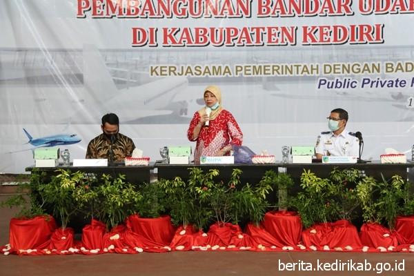 Kemenhub Gelar Konsultasi Publik Bandar Udara Baru Kabupaten Kediri