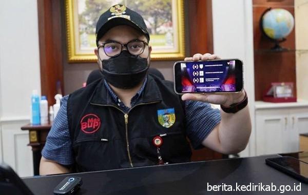 Kabupaten Kediri Raih Juara 1 BKN Award 2021