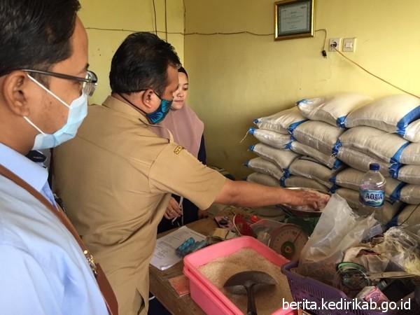 Pemkab Kediri Monev Penyaluran Program Sembako/BPNT