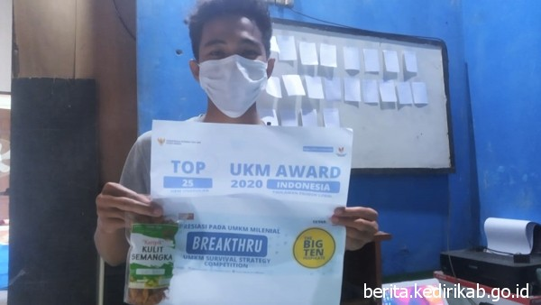 Berkat Keripik Kulit Semangka, Raih Top 25 UKM Award dari Kemenkop dan UKM