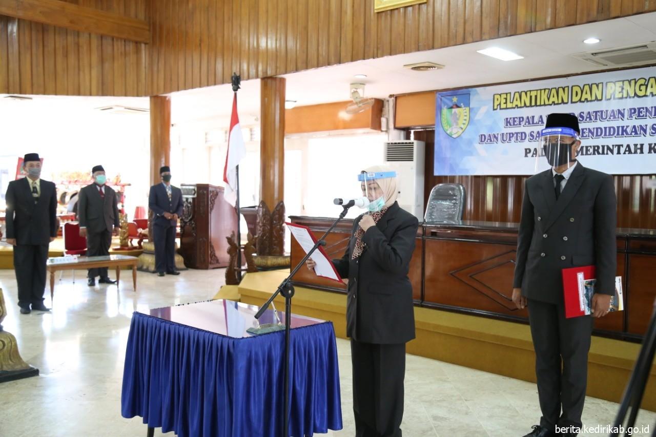Pelantikan Kepala UPTD Satuan Pendidikan SD dan SMP