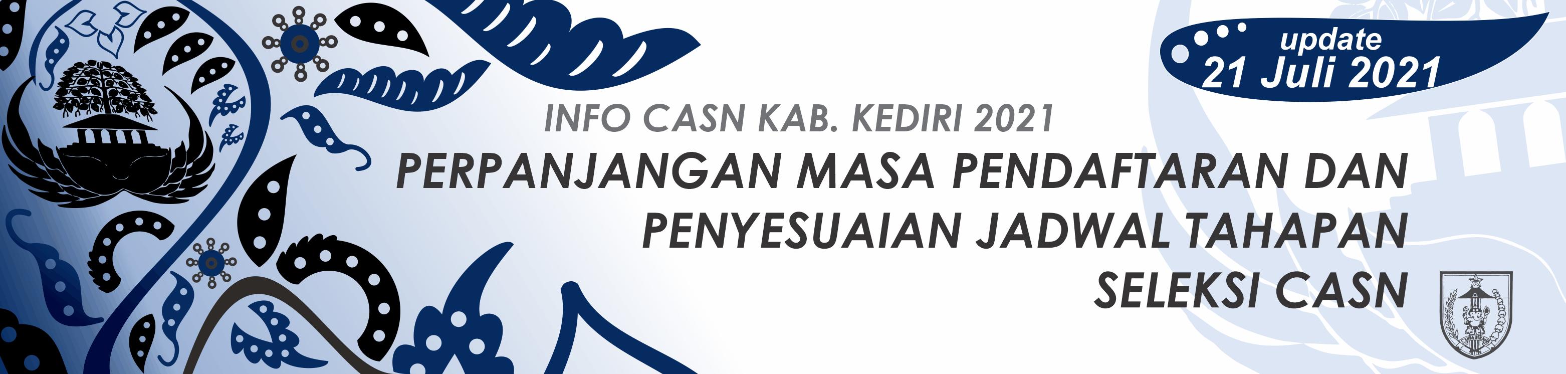Pendaftaran CASN 2021 Kab Kediri