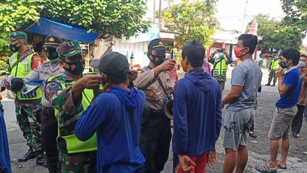Operasi Yustisi Forkopimca Kandat di Pasar Purworejo